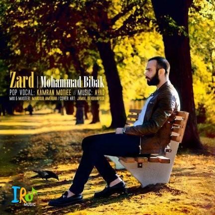 محمد بیباک-زرد+متن آهنگ