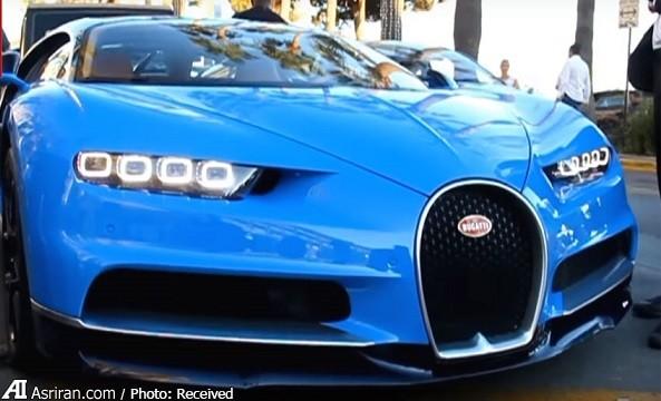 از این بوگاتی یک دستگاه در جهان وجود دارد که متعلق به شاهزاده سعودی است (+عکس )…