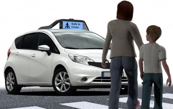 ماشینهای خودران آینده به شما میگویند کی از خیابان رد شوید…