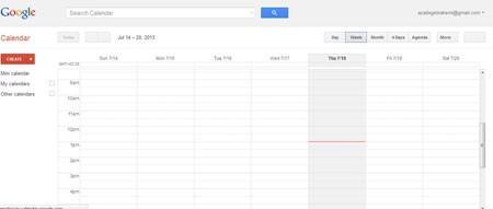 آبوهوا در تقویم گوگل