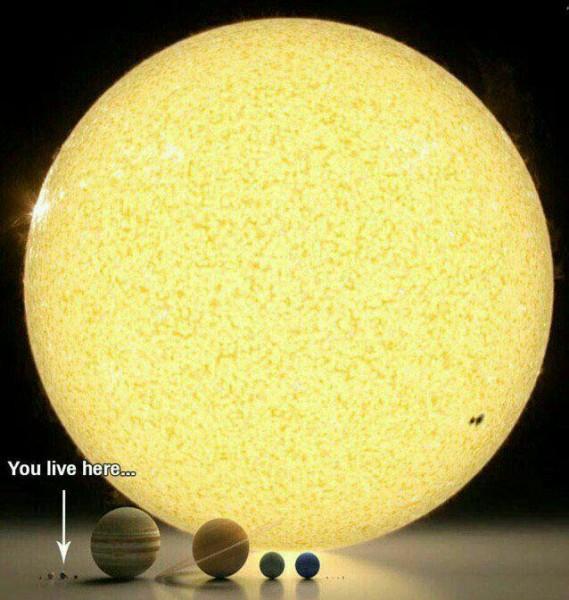 عظمت جهان هستي